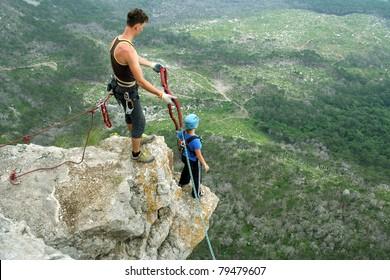 Jump to rope.Shaan Kaya Crimea.