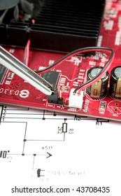 jumper on printed circuit board