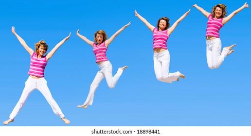 jumping even higher!!!