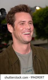 Jun 15, 2000 Actor JIM CARREY at the Los Angeles premiere of his new movie Me, Myself & Irene.