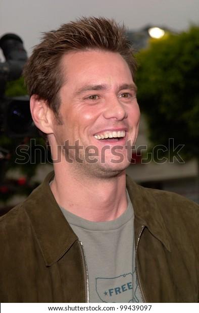 Jun 15 2000 Actor Jim Carrey Stock Photo Edit Now 99439097