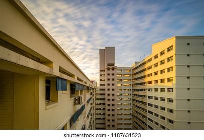 Jun 24/2018 Sunrise at 11th floor of block 139 Jalan Bukit Merah , Singapore