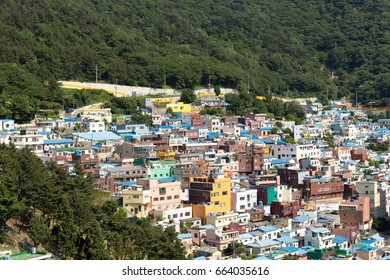 Jun 3, 2017 - At Gamcheon Culture Village Busan South Korea with blue sky