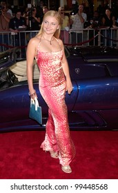 Jun 5, 2000 Actress ISABELLA MIKO at the world premiere, in Westwood, of Gone In 60 Seconds.