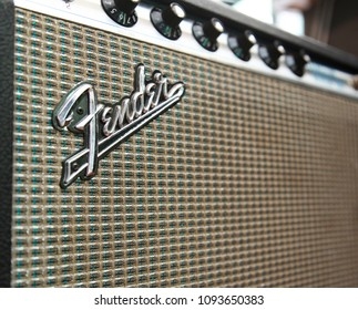 JUN 9 2016: Vintage Fender Princeton Reverb amplifier