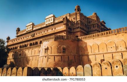 Junagarh Fort at Bikaner, Rajasthan India.