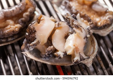 junbok gui is grilled abalone bbq