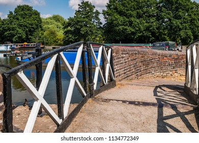 Junction of Grand Union and Stratford Canals. Lapworth, England, UK.