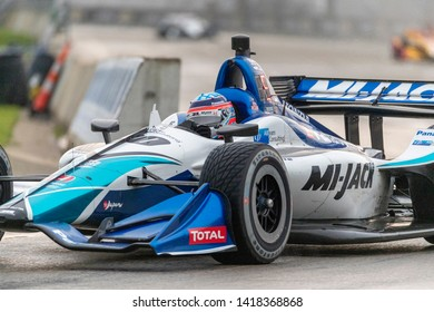 June 01, 2019 - Detroit, Michigan, USA: TAKUMA SATO (30) of Japan races through the turns during the  race for the Detroit Grand Prix at Belle Isle in Detroit, Michigan.