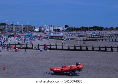 June 01 2019, Littlehampton Seafront first day of summer and families make the most of a rare summer day.