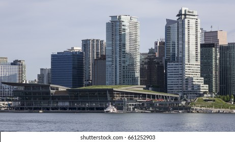 June 14, 2017 - Vancouver, British Columbia - Canada - City scape on a sunny day