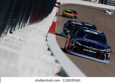 June 17, 2018 - Newton, Iowa, USA: Brandon Jones (19) brings his car down the backstretch during the Iowa 250 at Iowa Speedway in Newton, Iowa.