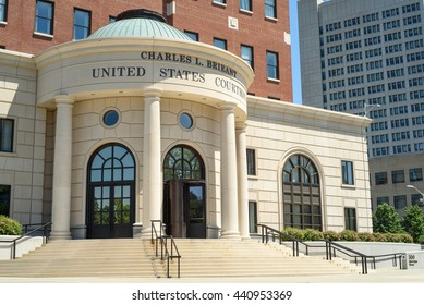 June 19, 2016 - White Plains, NY: The Charles L. Brieant United States courthouse and federal building southern district of New York.