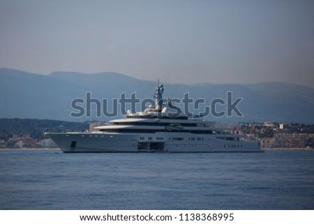 June 19 2018 Image Eclipse Yacht Stock Photo Edit Now 1138368995