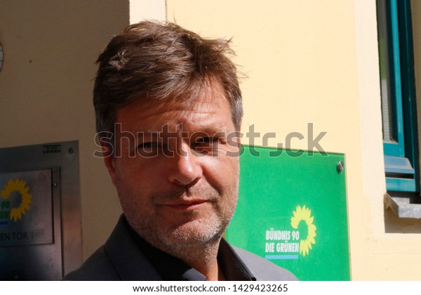 JUNE 19, 2019 - BERLIN: Robert Habeck - meeting of the Chairman of the Green Party with the Ukrainian President.