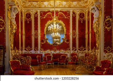 June 19th 2018. The interiors of the State Museum complex of the Hermitage. Winter palace. St. Petersburg, Russia.