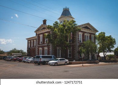 June 20, 2017 - Tombstone, Arizona, USA - Old historic courthouse government offices built in 1882
