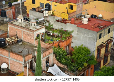 Colorful San Houses Terrace Images Stock Photos Vectors