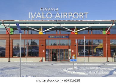 JUNE 2017 - FINLAND - IVALO AIRPORT