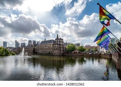June 2019, Binnenhof (Dutch Parliament), The Hague (Den Haag), Netherlands