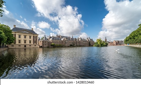 June 2019 museum Mauritshuis at the Binnenhof (Dutch Parliament), The Hague (Den Haag), Netherlands