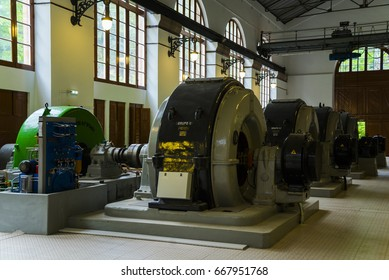 June 23th, 2017 - Asturias, Spain: The first hydroelectric power generation plant in Asturias started its operation in 1917, in the valley of Somiedo. It continues working today.