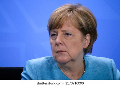 JUNE 29, 2017 - BERLIN: Angela Merkel - Preparatory Meeting of the European Heads of States to the G20 Summit, Chanclery.