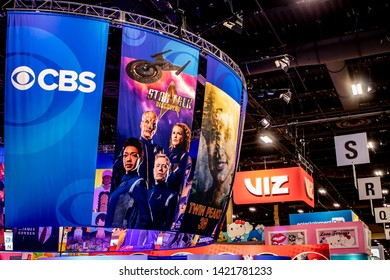 June 4, 2019, LAS VEGAS, NEVADA, USA, CBS Consumer Products Showcases Several of their Properties, Including the Star Trek Series, at the 2019 Licensing Expo Trade Show
