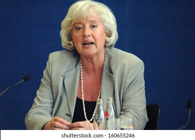 JUNE 6, 2005 - BERLIN: Minister of Family Renate Schmidt at a press conference in Berlin.