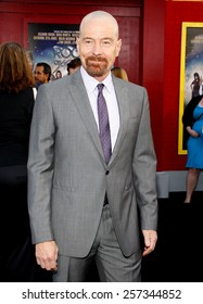 """June 8, 2012. Bryan Cranston at the Los Angeles premiere of """"Rock of Ages"""" held at the Grauman's Chinese Theater, Los Angeles."""