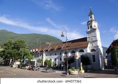 June 9, 2017, Church, Erhardkirche, Brixen, Bozen, Italy, Europe