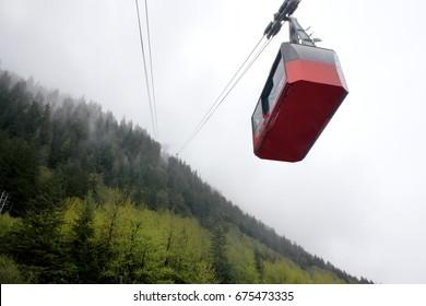 Juneau Alaska cable car