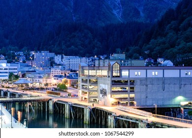 Juneau, Alaska at Night