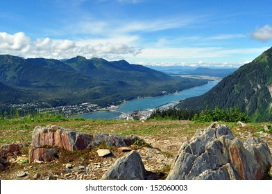 Juneau Alaska View from Mount Roberts