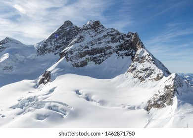Jungfrau (jungfraujoch) mountain, also know as top of Europe