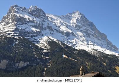 Jungfrau Peak near Grindelwald, Switzerland
