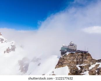 Jungfrau top of europe in interlaken ,Swithzerland