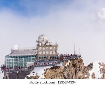 Jungfrau top of europe in interlaken ,Switzerland