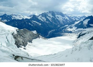 Jungfraujoch in Bernese Oberland Swiss
