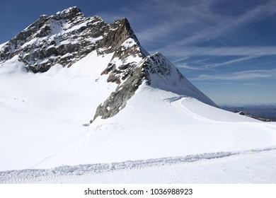 Jungfraujoch glacier, Switzerland