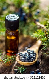 Juniper berries and essential oil