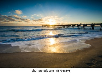 Juno Beach Pier Sunrise, Florida