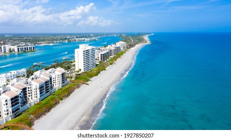 Jupiter Island in Florida Long coastal beaches along Florida's east coast.