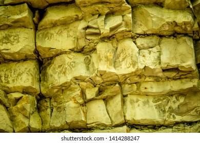 Jura limestone, shifts of the Swabian Alb in Germany