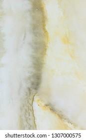 Jura stone with yellow and black stone vein.