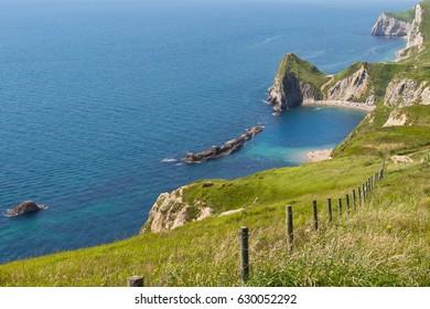 Jurassic Coast Durdle Door Cornwall Devon England