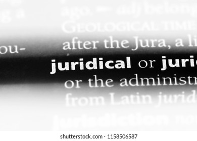 juridical word in a dictionary. juridical concept.