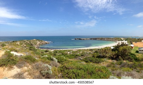 Jurien Bay Beach Panorama Western Australia