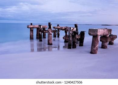 jurien bay old swimming jetty
