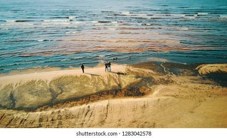 Jurmala Baltic sea
